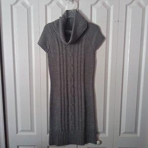 Gray Sweater Dress Size M